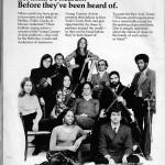 US News & World Report July 10, 1972. Paul is in the first row on the right.